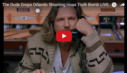 NESARA- REPUBLIC NOW – GALACTIC NEWS: The Dude Drops Orlando Shooting Hoax Truth Bomb LIVE on TV!!!
