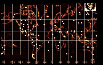 KGB Map of Alien Bases On Earth | Beyond Science