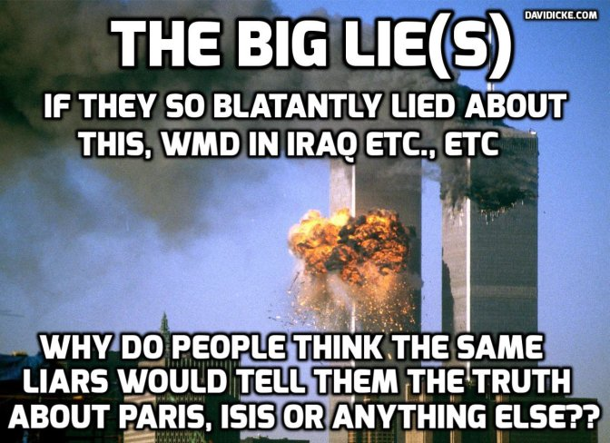 CIA agent on terrorism: 'Stories manufactured by elite to keep us killing each other' | David Icke