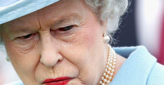 Queen Elizabeth 'Shapeshifting' On Live TV Goes Viral | Your News Wire