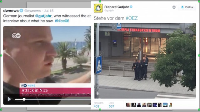 BREAKING! Same Israeli photo-propagandist pre-positioned in Nice AND NOW MUNICH | Veterans Today