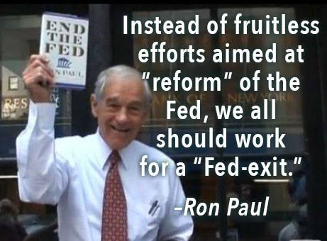 Don't Reform The Fed, Fed-Exit! | Zero Hedge