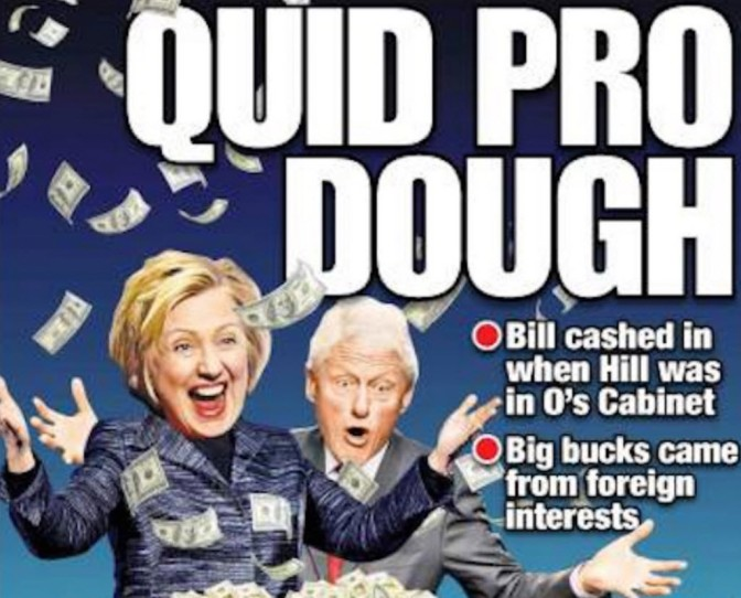 IRS Launches Investigation Of Clinton Foundation | Zero Hedge