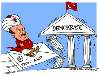 WikiLeaks releases 300k Turkey govt emails in response to Erdogan's post-coup purges | Stillness in the Storm