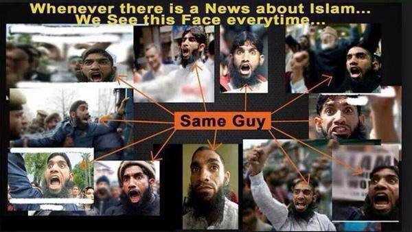Crisis Actor Muslim