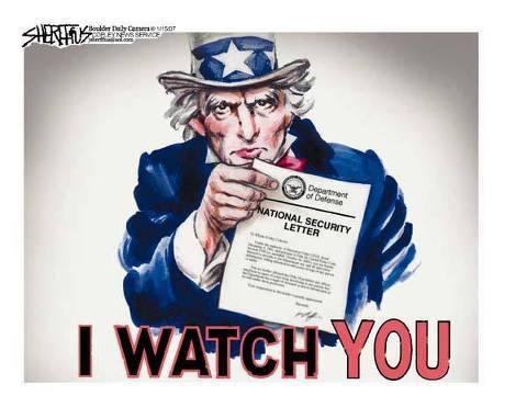 I watch you