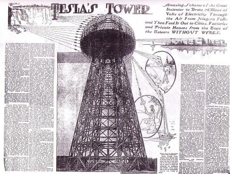 Nikola-Tesla-News-Paper-wardenclyffe-tower