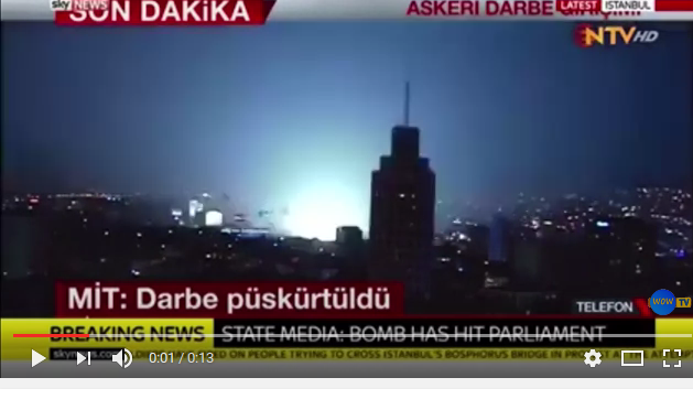 UPDATED: Turkish Parliament Nuked During Coup Attempt | Veterans Today