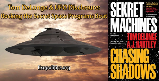Exopolitics » Tom DeLonge & UFO Disclosure: Rocking the Secret Space Programs Boat