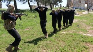 Syrian rebel training