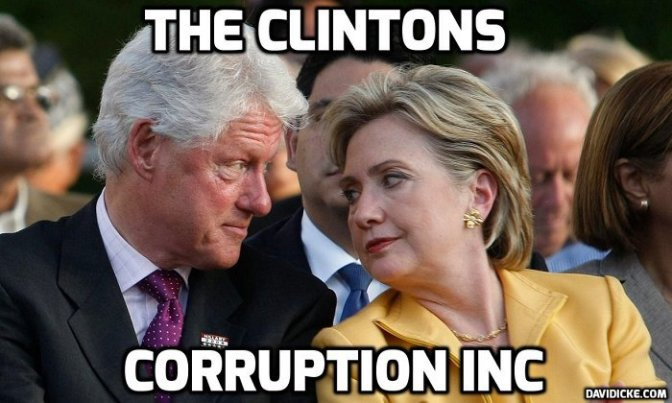 FBI Source: Clinton Foundation Can Bring Down the Entire Government   David Icke