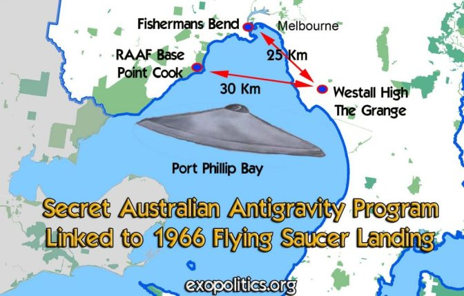 Exopolitics » Secret Australian Antigravity Program Linked to 1966 Flying Saucer Landing