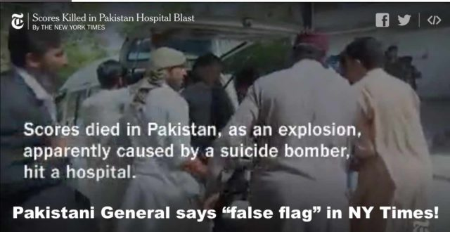 Quetta bombing: False flag 4th generation warfare targets Pakistan | Veterans Today