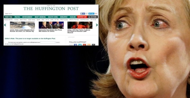 "HuffPo ""Revoked Publishing Access"" Of Journalist After 'Hillary Health' Story: ""It's Orwellian…I'm Scared"" 