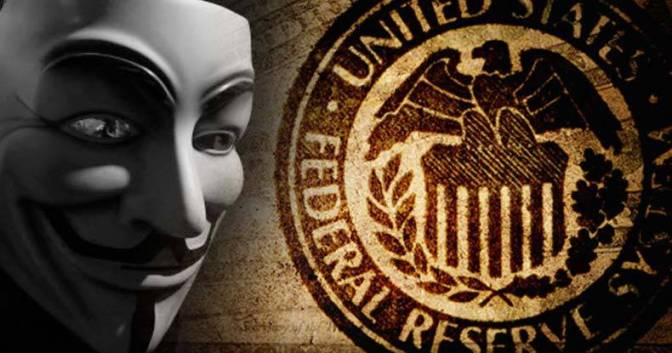 EXCLUSIVE: Anonymous Strikes the Heart of the Empire — Takes Down U.S. Federal Reserve Bank
