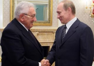 Putin has been a big fan of Kissinger, thereby approving what he did