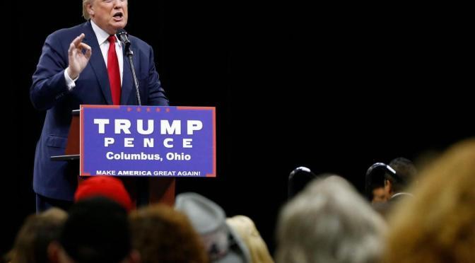 Trump says November presidential election may 'be rigged' | David Icke