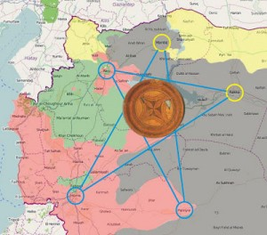 Liberating Syria's Ancient Pentagram Vortex and It's Geopolitical Effects | Stillness in the Storm