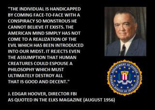j. edgar hoover conspiracy