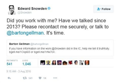 Edward Snowden dead