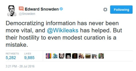 Edward Snowden wikileaks