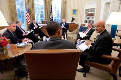 Obama Surrounded By Intel Jesuits