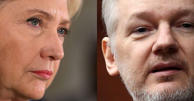 'Pleading The Hillary': Assange Demands Same Treatment From DOJ | Your News Wire