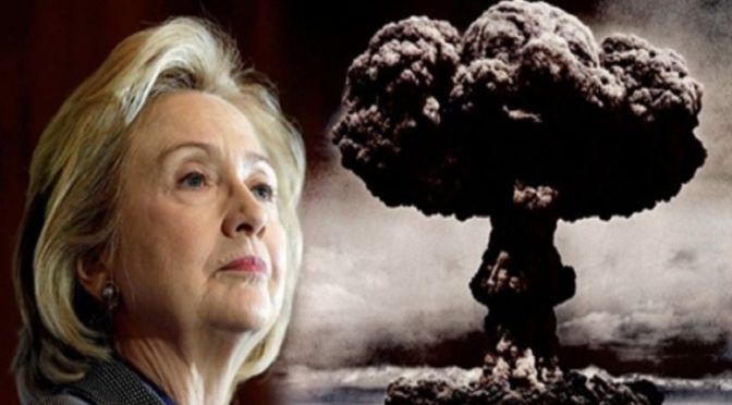 DR WILLIAM MOUNT: Hillary – For God Sake – Sit Down