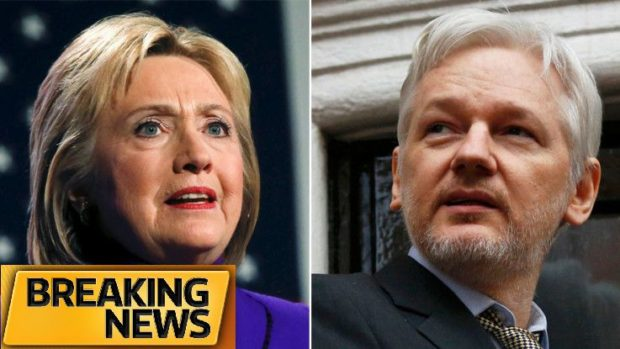 """Assange Did It: WikiLeaks Dispenses 23,000 Hillary Emails Marked """"C"""" for Confidential (Classified) +Video 