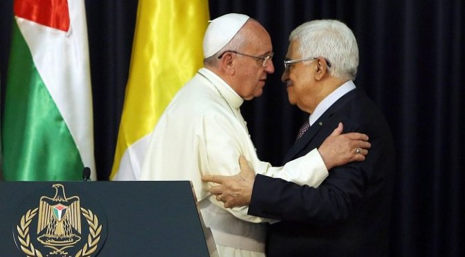 Vatican Fully Recognizes Palestine State. Pope Francis: Israel Will Disappear from The 'Landscape of Geography', Landmark Treaty Enters into Force | David Icke