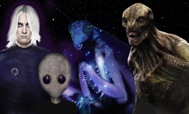 A-Z List of Aliens Operating on Earth Throughout History | Humans Are Free