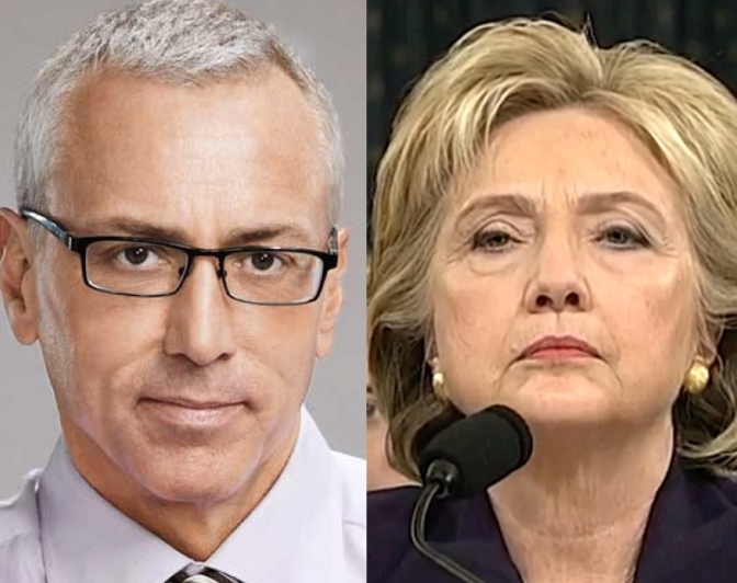 "Dr. Drew Asked To Retract Hillary Health Comments – Received ""Scary, Creepy"" Phone Calls 