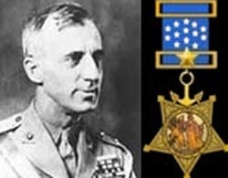 """Major General Smedley D. Butler (USMC – Retired) Legendary author of the book """"War is a Racket"""" – 1935 (1881 – 1940) Two-time recipient of the Medal of Honor"""