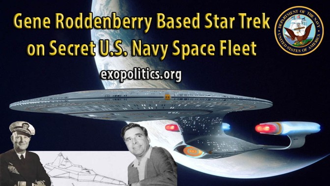 Exopolitics » Gene Roddenberry Based Star Trek on Secret US Navy Space Fleet