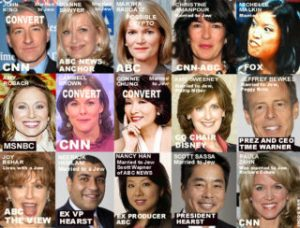 Some of the Controlled Major Mass Media