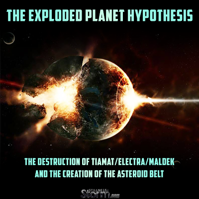 The Exploded Planet Hypothesis: The Destruction of Tiamat/Electra/Maldek and the Creation of the Asteroid Belt | Stillness in the Storm