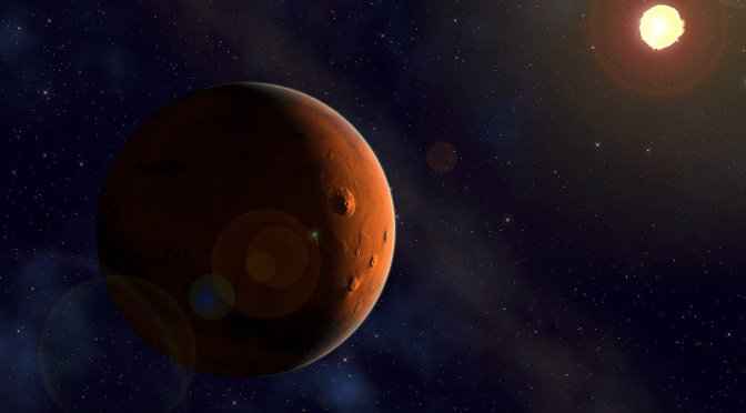 Ice Ice Baby! Massive Sea of Ice Discovered Beneath Mars' Surface — Sputnik International