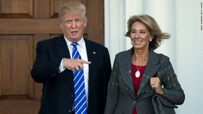 Donald Trump Announces Pro-Common Core Betsy DeVos as Education Secretary — David Icke latest headlines