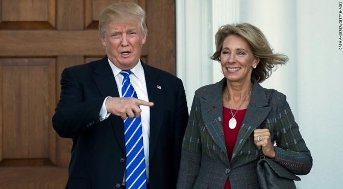 Donald Trump Announces Pro-Common Core Betsy DeVos as Education Secretary — David Icke latest headlines