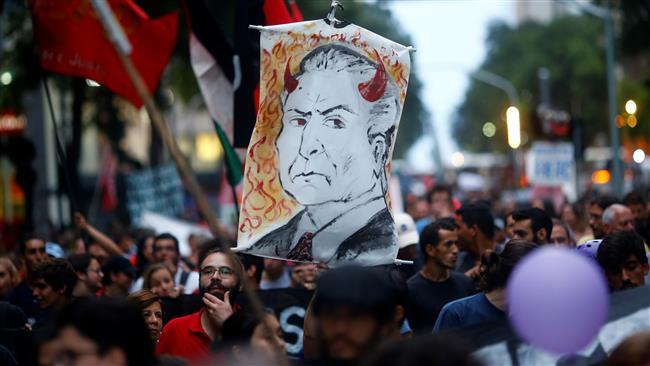 Brazilians protest against scandal-hit President Temer — David Icke latest headlines