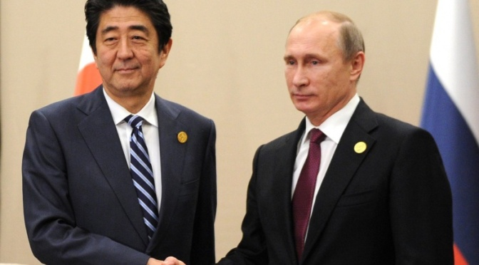Japan's Abe Says Time Needed to Settle Peace Treaty Issue With Russia — Sputnik International