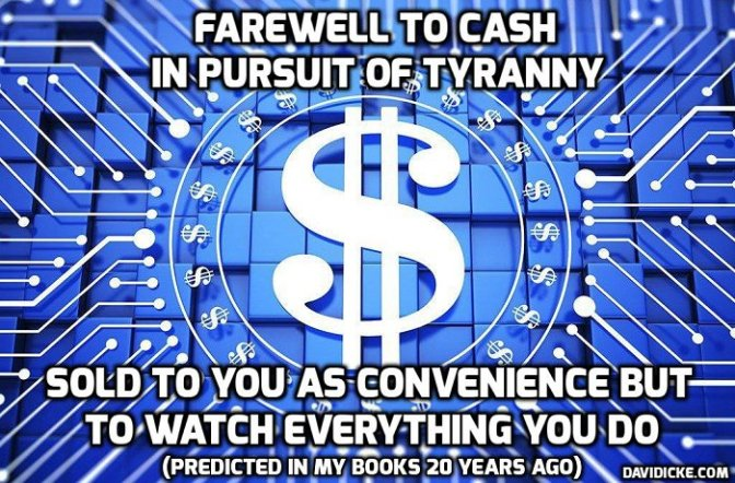 Breaking News on the War on Cash: Now Spain — David Icke latest headlines