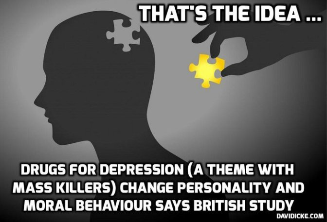 Antidepressants burden users with extreme side-effects — David Icke latest headlines