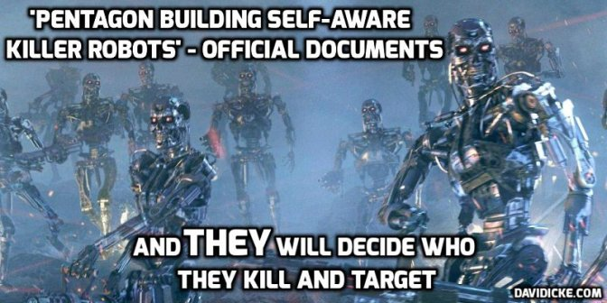 Stopping Killer Robots at the Source (Code) — David Icke latest headlines