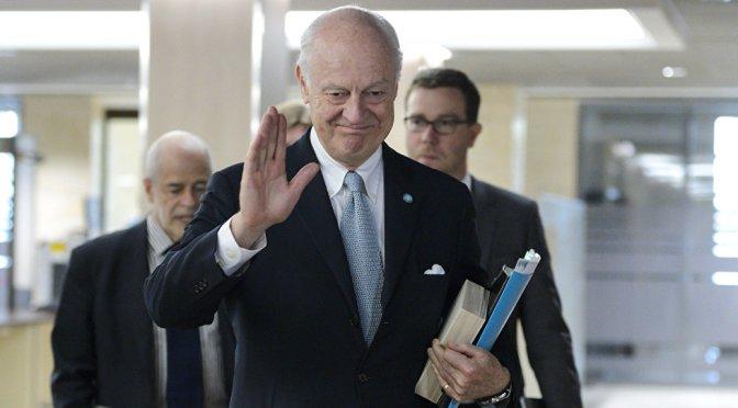 De Mistura to Meet With Trump for Clarification of Stance on Syria — Sputnik International