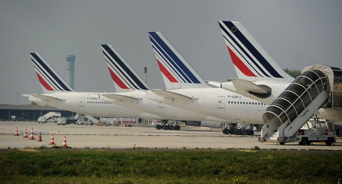 UK, US Intel Services Spied on Cellular Activity Onboard Air France Planes — Sputnik International