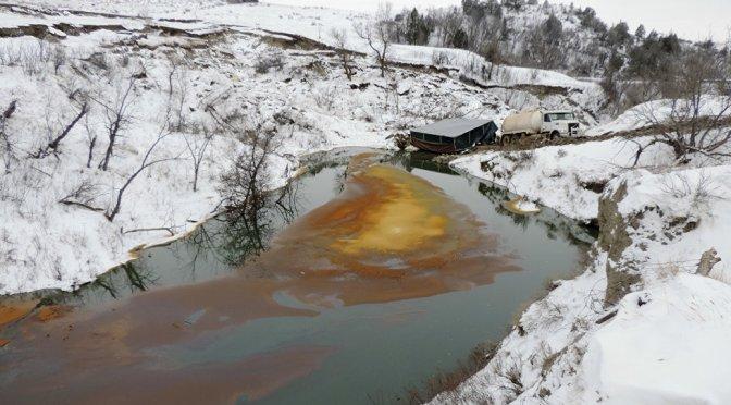 Large Oil Leak in North Dakota Confirms Water Protectors' Fears — Sputnik International + +