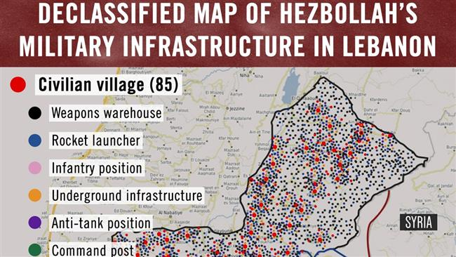 Israel admits tweeting fake Lebanon map marked with Hezbollah positions — David Icke latest headlines