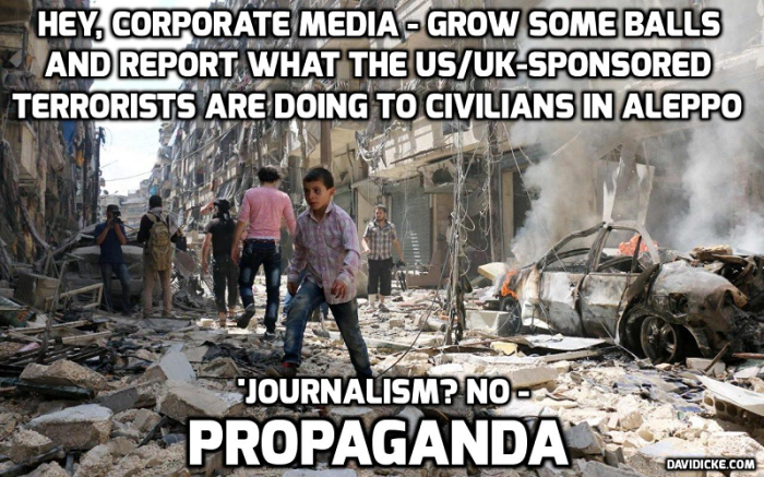'No one shot at evacuees': Filmmaker who witnessed Aleppo liberation speaks to RT — David Icke latestheadlines