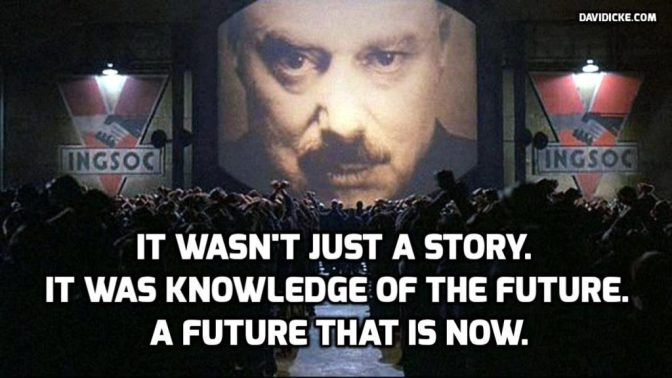 'Big Brother' Watches Everyone in America: Obama Signs 'Ministry of Truth' into Law — David Icke latest headlines
